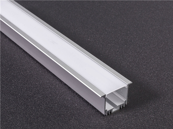 U-4832 48x32mm Recessed LED Aluminum Track